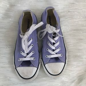 Converse Chuck Taylor All Star purple sneakers